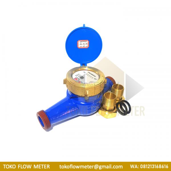 water-meter-air-bersih-calibrate-1-inch-multi-jet-vane-wheel